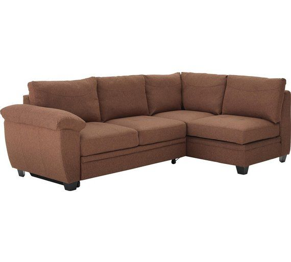 buy collection fernando fabric right corner sofa bed   chocolate at argos  co uk buy collection fernando fabric right corner sofa bed   chocolate      rh   pinterest co uk