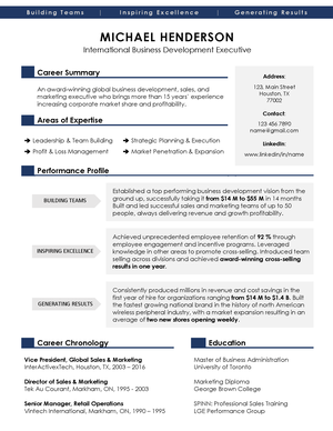 Download Modern Resume Templates In Ms Word Executive Template