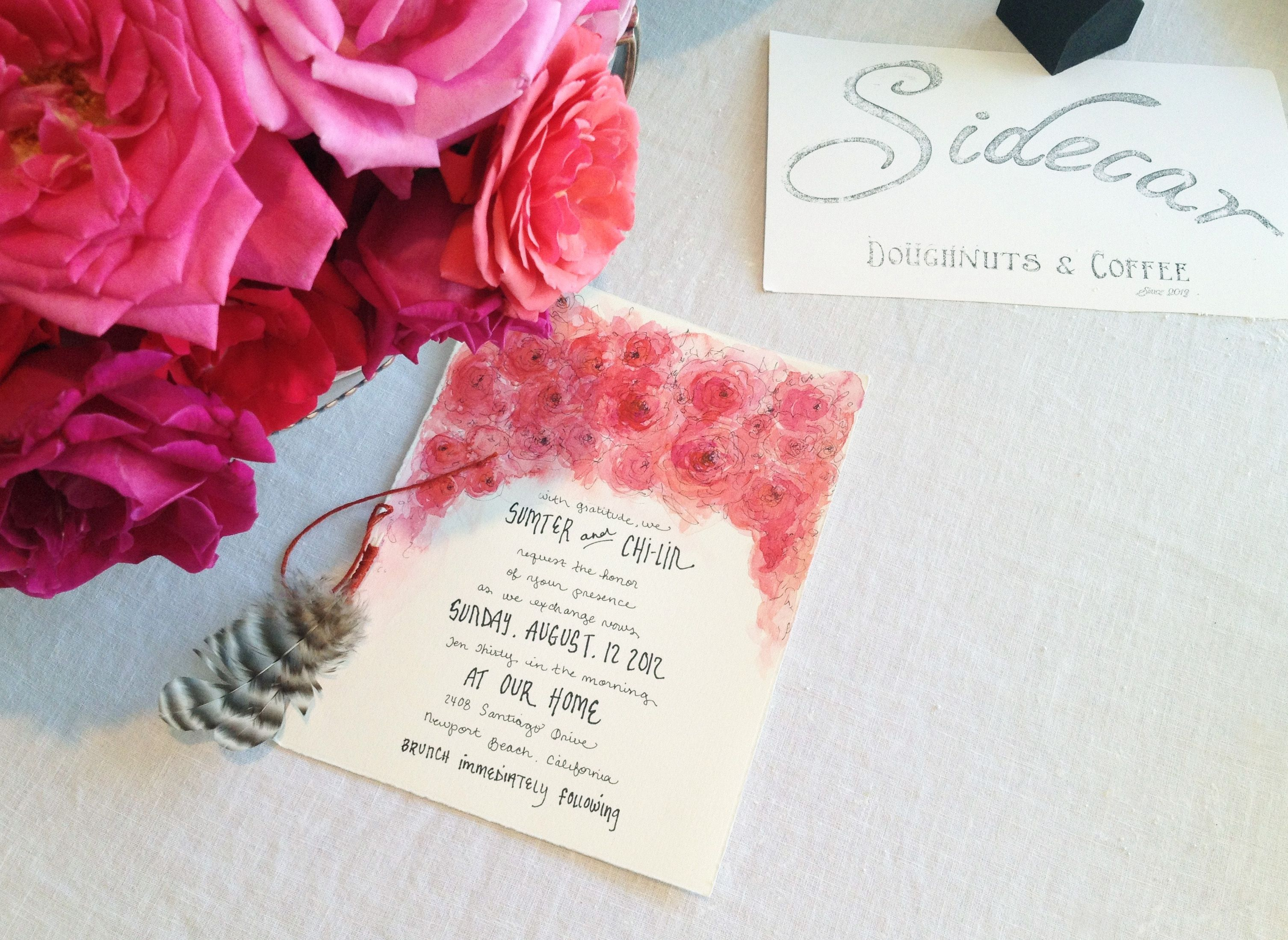 wedding invitation - chi-lin & sumter | LMNOP | Pinterest | Wedding ...