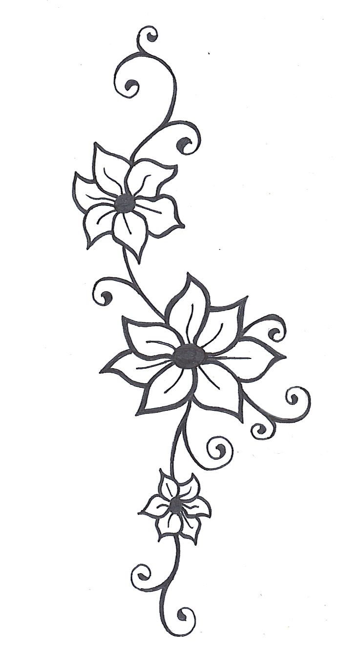 Flower Vine Drawings Images & Pictures - Becuo - ClipArt ...