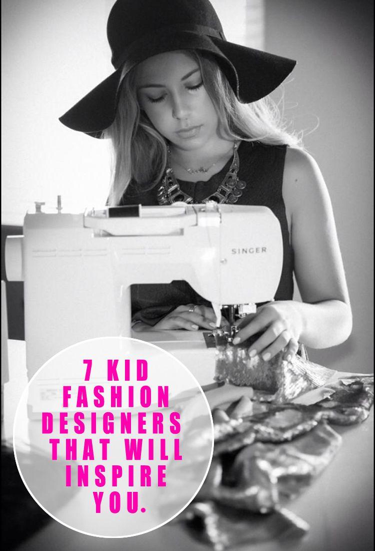 7 Kid Fashion Designers that will Inspire You | Pinterest | Fashion ...