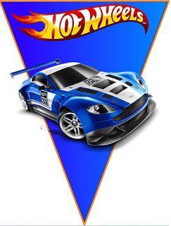 BulutsMom: Hot Wheels Doğum Günü Banner