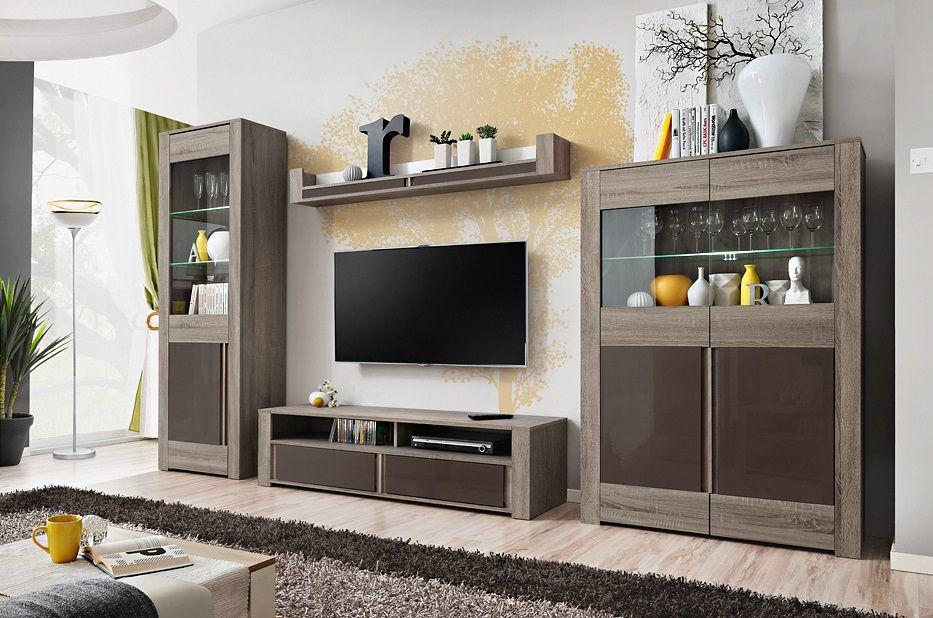 Dallas | Meuble tv moderne, Meuble tv modulable et Meuble tv led