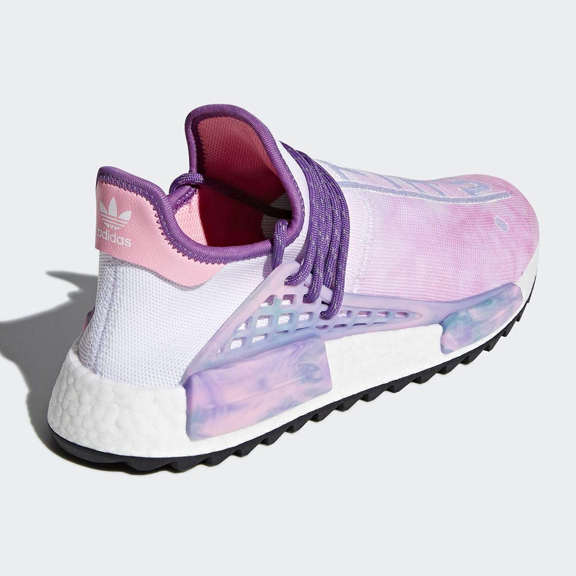 premium selection fe475 d9d79 Pharrell adidas NMD Hu Holi AC7362 Release Info  SneakerNews.com