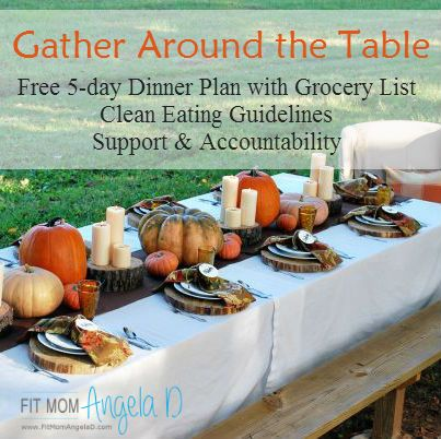 FREE 5 Day Dinner Plan with Grocery List 21 Day Fix Approved - grocery list form