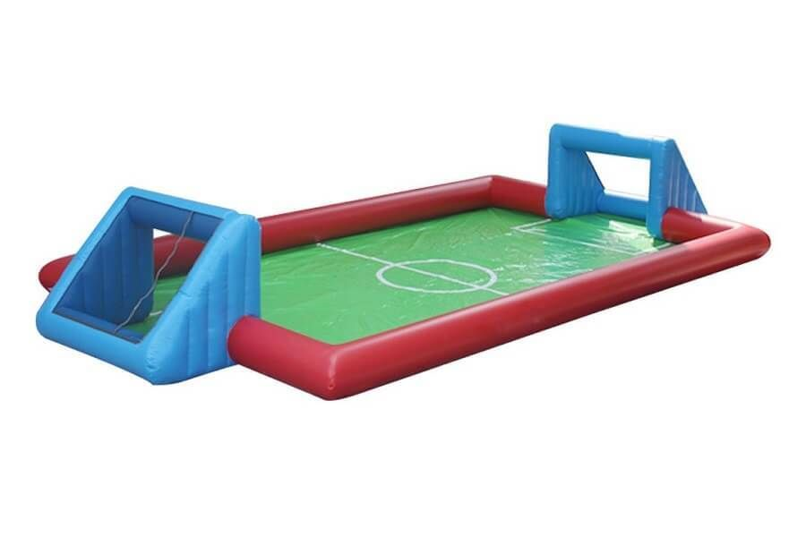 Soapy Football Dubai Available Rental Soapy Soccer Inflatable Pitch Uae Football Pitch Football Inflatable