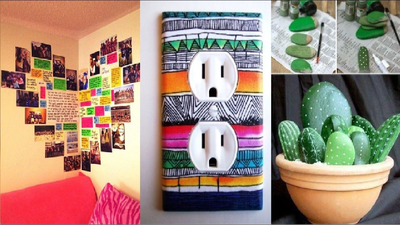 DECORA TU CUARTO CON MANUALIDADES FACILES, TUTORIAL 2017 ... on Room Decor Manualidades Para Decorar Tu Cuarto id=48722