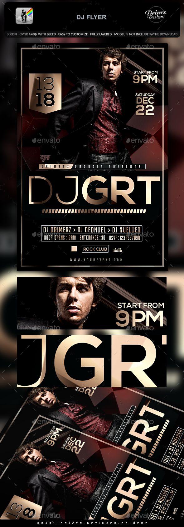 DJ Flyer   Pinterest   Dj, Event flyers and Flyer template