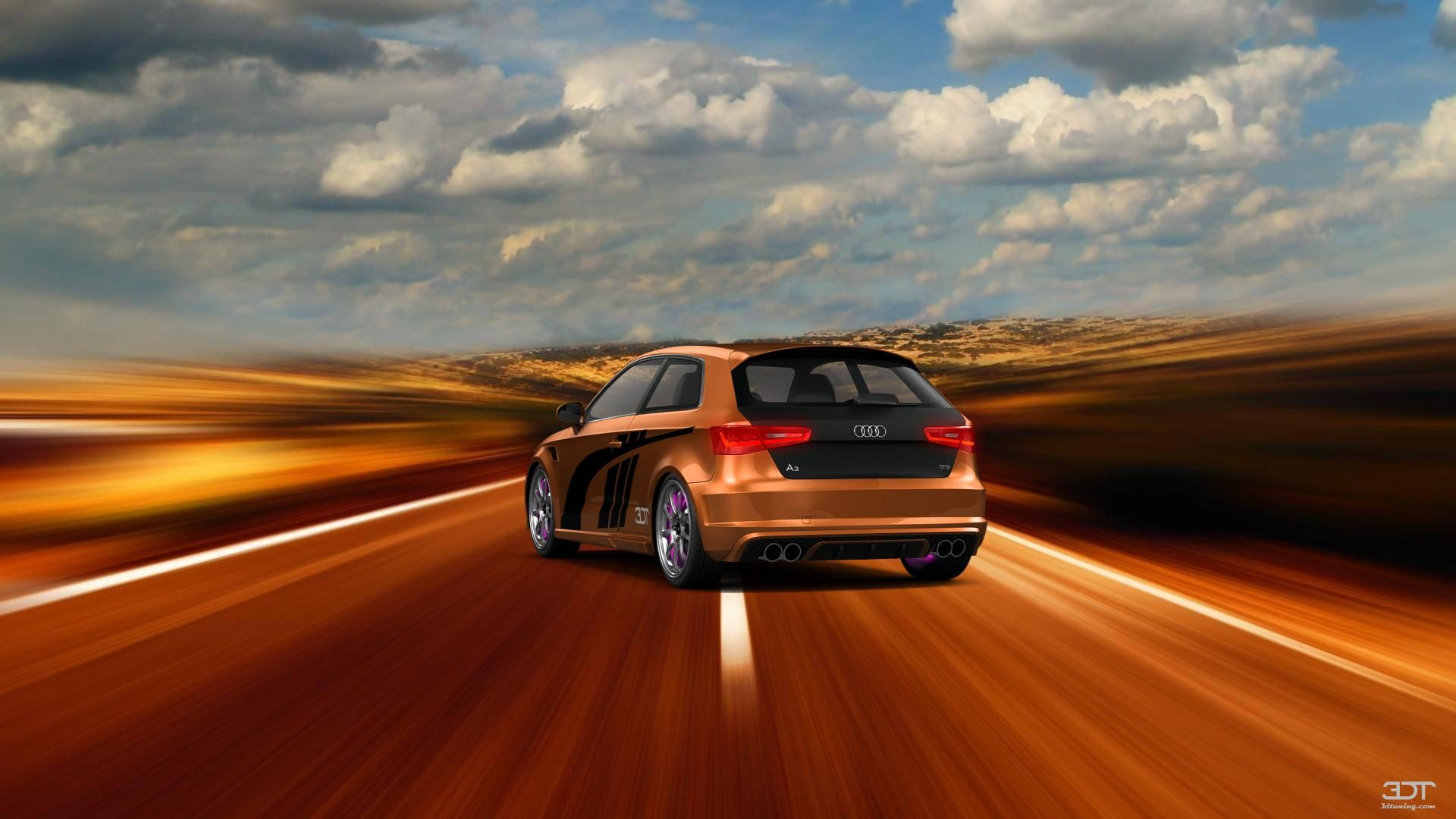 Checkout my tuning audi a3 2013 at 3dtuning 3dtuning tuning