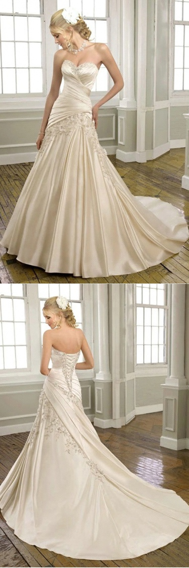 Cozy Designer Wedding Dresses Bride Weddings Dresses Event Hoop ...