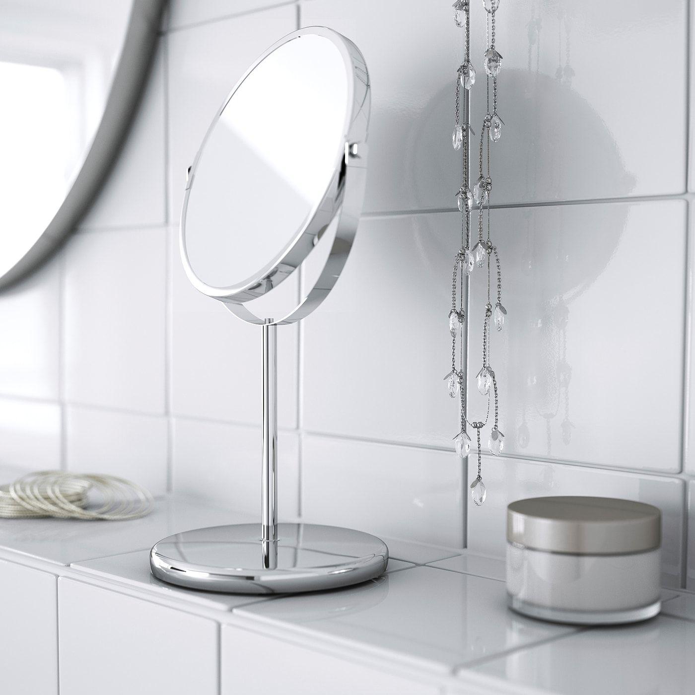 Ikea Trensum Stainless Steel Mirror In 2020 Mirror Ikea Mirror