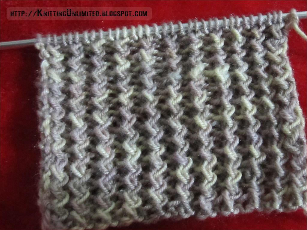 Zig zag rib stitch similar twisted rib openwork stitch the zig zag rib stitches are knit through the back loop and create interesting zigzag effect of the twisted stockinette ribs bankloansurffo Image collections