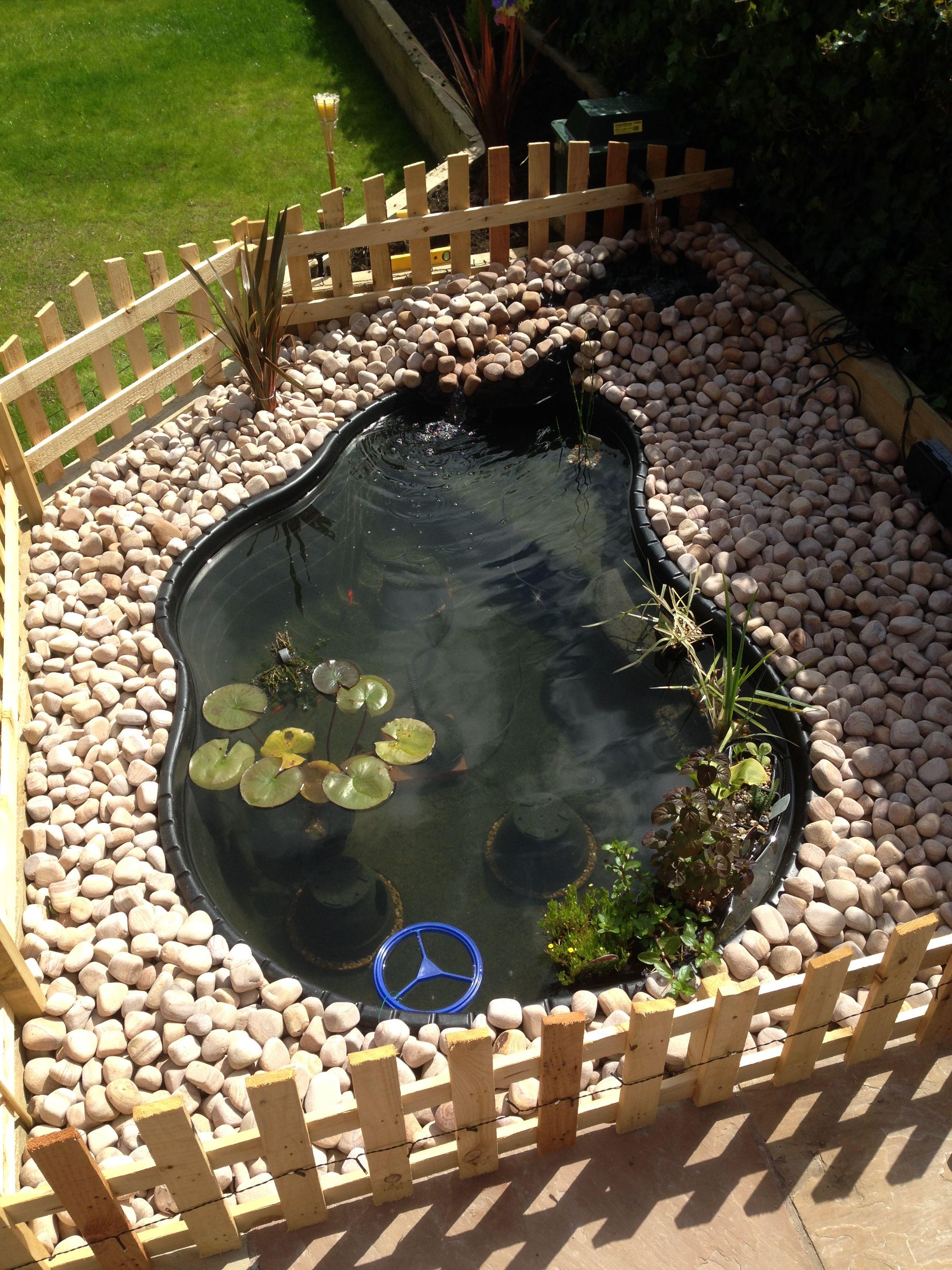 Small Preformed Pond 1200 Litres Ponds Backyard Turtle Pond Outdoor Ponds Diy backyard turtle pond