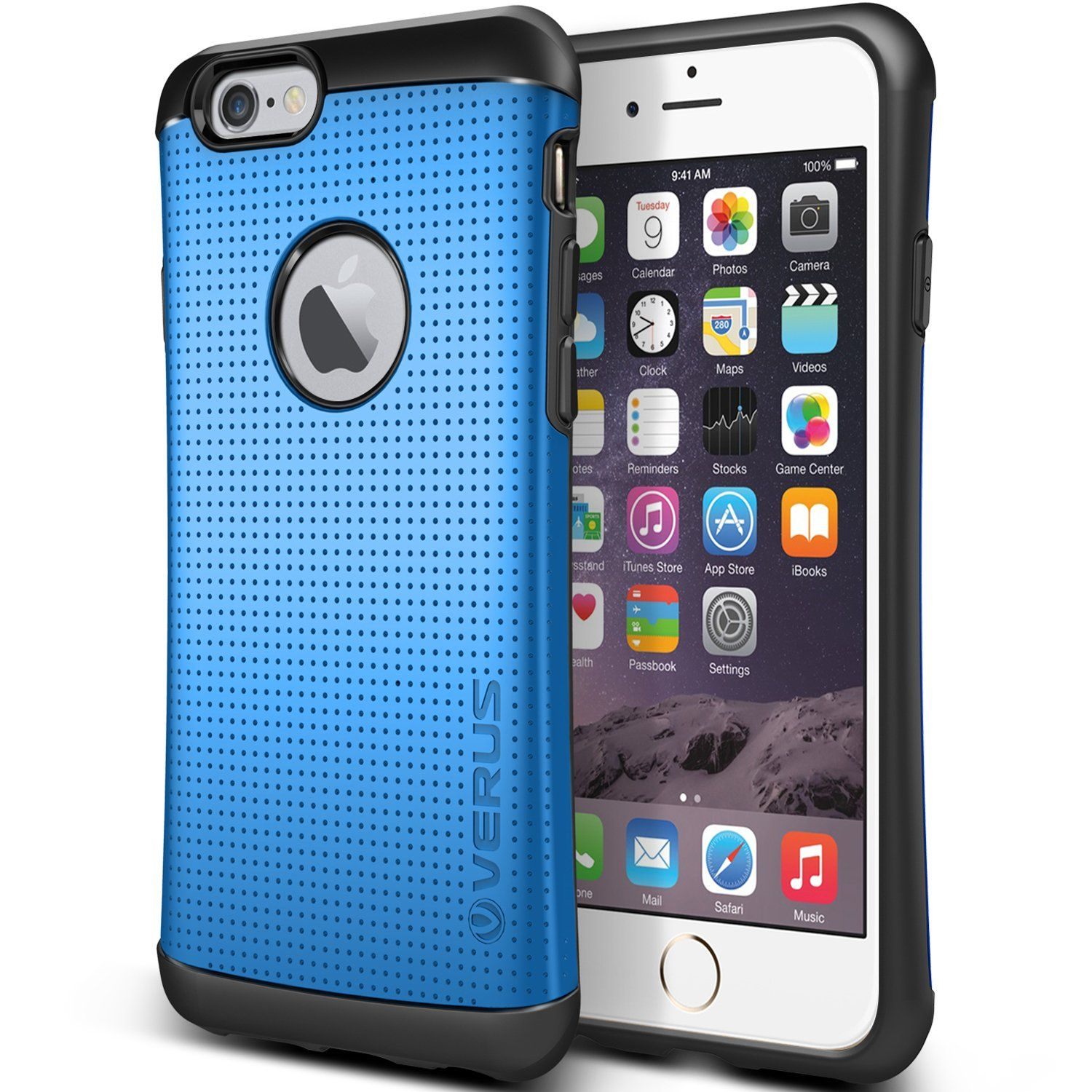 """Amazon.com: iPhone 6 Plus Case, Verus [Heavy Drop Protection] iPhone 6 Plus 5.5"""" Case [Thor][Satin Silver] Extra Slim Fit Dual Layer Hard Case - Verizon, AT&T, Sprint, T-Mobile, International, and Unlocked - Case for Apple iPhone 6 Plus 5.5 Inch Late 2014 Model: USA Designed by Verus Design Lab in California: Cell Phones & Accessories"""