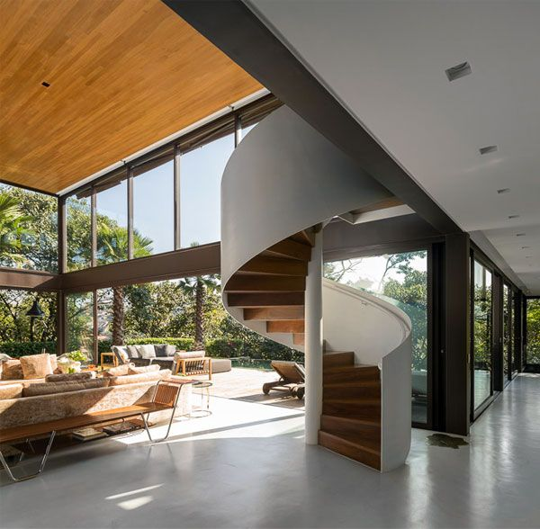 Best Contemporary Residence Interior In Brazil 400 x 300