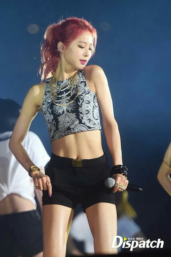 Solji Exid Bias Because Of Her Powerful Voice Fit Girl Motivation Kpop Girls Girl Abs
