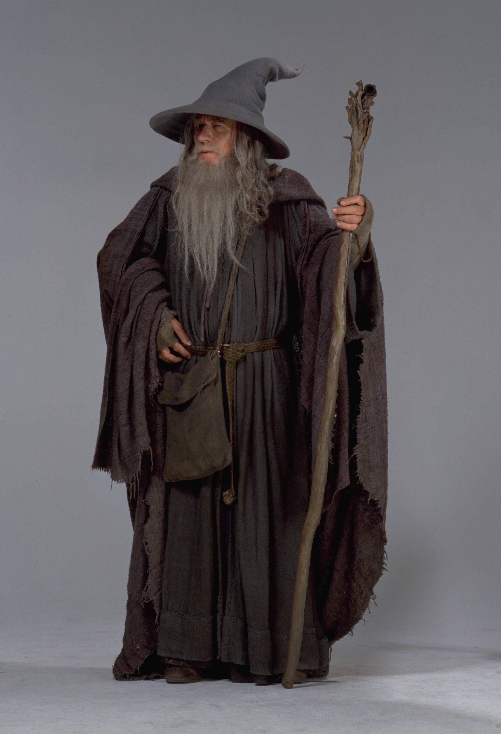 Halloween the Lord of the Ring Gandalf Cosplay Costume the Hobbit Wizard Cloak