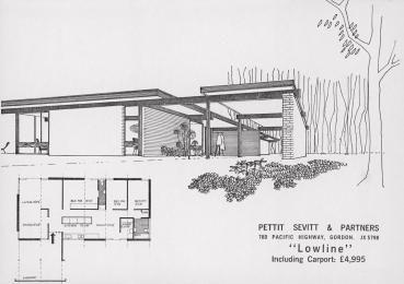 1962 1977 Vintage house plans, Modern house plans, Mid