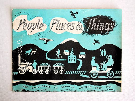 People Places & Things Booklet BBC Broadcasts to by honeyandsea