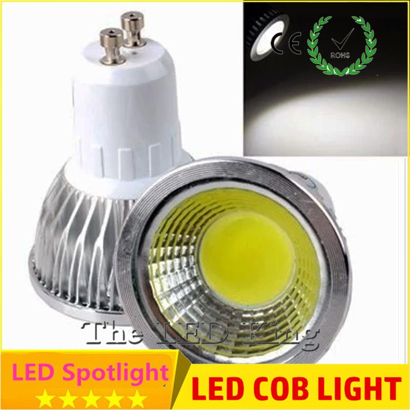 1 pcs Super Lumineux 9 W 12 W 15 W GU10 COB LED Ampoule 110 V 220 ...
