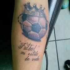 Resultado De Imagen Para Tatuajes De Balones De Futbol 3d Asi Soy