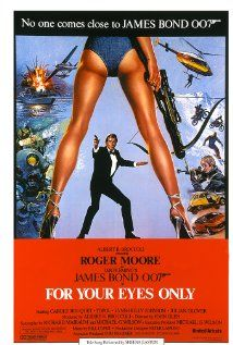For Your Eyes Only 1981 Posteres De Filmes Roger Moore Filmes