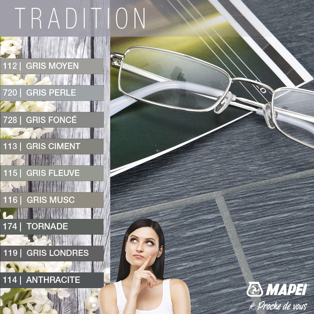 Ambiance Traditionnelle Avec Les Joints Couleurs Mapei