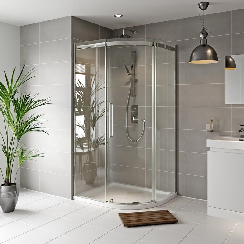 Mode Foster Stainless Steel Right Handed Offset Quadrant Shower Enclosure 1000 X 800 In 2020 With Images Quadrant Shower Enclosures Quadrant Shower Shower Enclosure