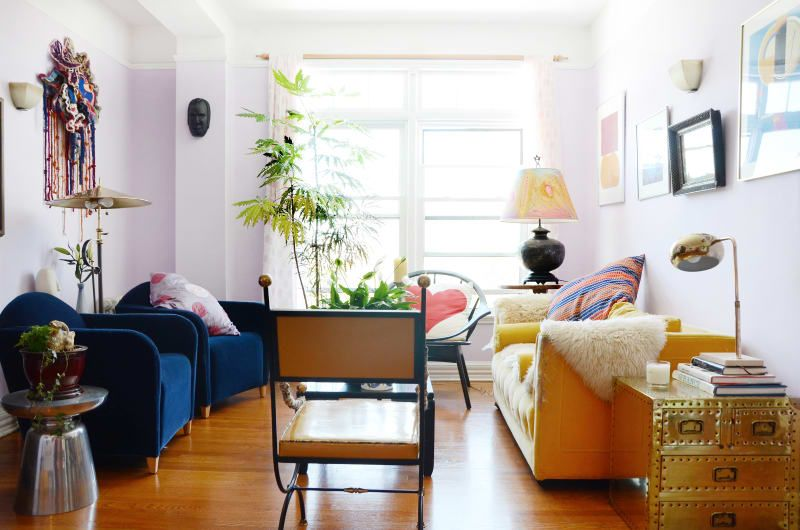 How To Set Up Your Living Room Without A Focus On The Tv Apartment Therapy Living Room Living Room Without Tv Small Apartment Living Room