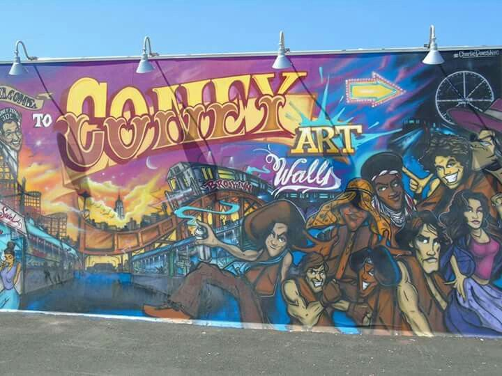 Coney island août 2015