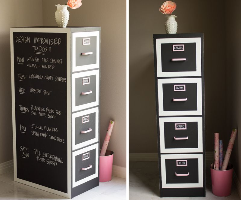file cabinet makeover...I wanna do this...awesome!!