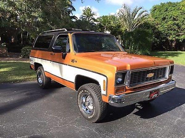 1973 Chevrolet Blazer 1973 Chevy K5 Blazer Cheyenne Rotisserie