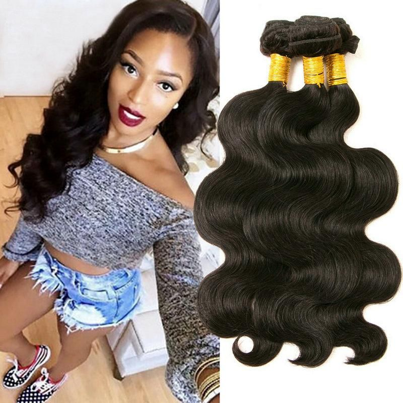 Yavida Malaysian Hair Body Wave Hair Bundles Natural Color 100