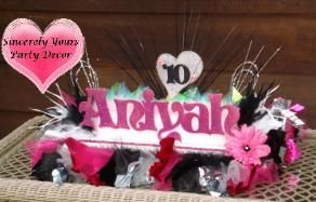 Name Boards Candle Lighting Boards We Ship Shown 10th Birthday Pink And Black Name Board Centerpiec Quinceanera Centerpieces Sweet 16 Party Decorations