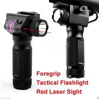 Combo Alloy Vertical Foregrip Bipod Strobe Cree Q5 Led