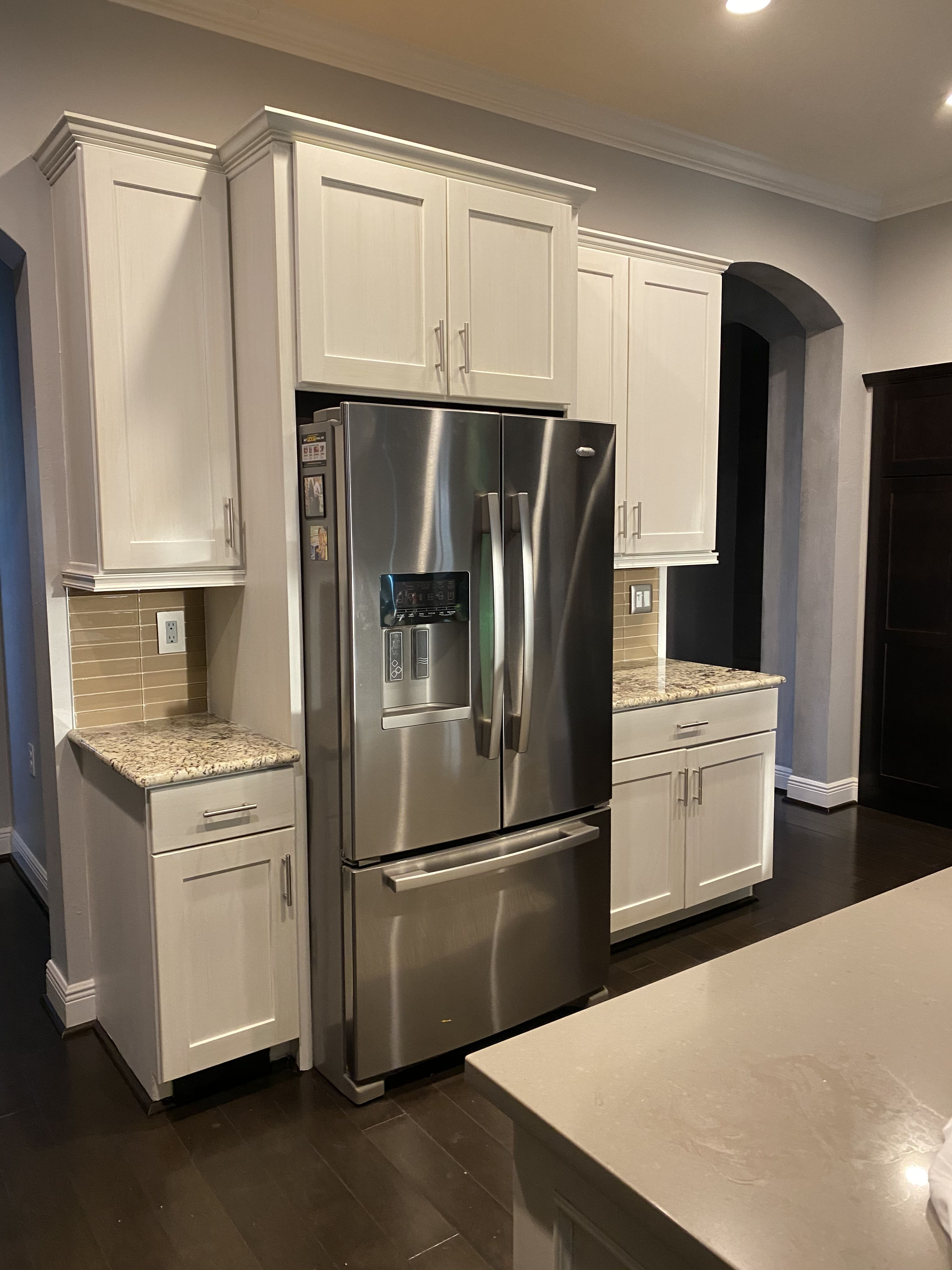 Faux Finish On Kitchen Cabinets In 2020 Kitchen Cabinetry Kitchen Cabinets In Bathroom Cabinetry