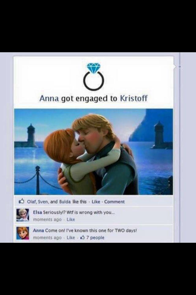 Too funny! Facebook drama