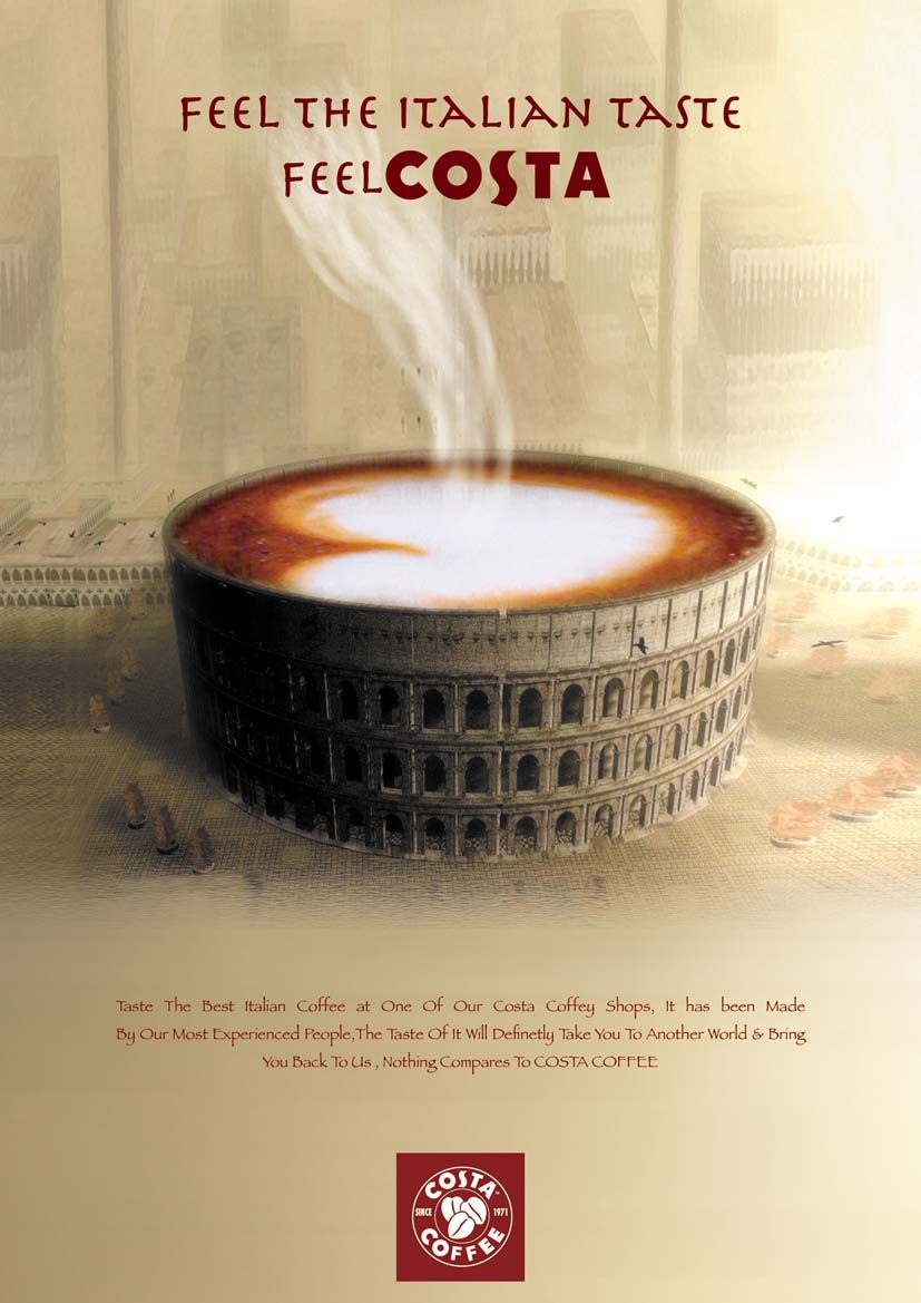 Awesome Costa Coffee Poster Costa Coffee Coffee Magazine Italian Coffee