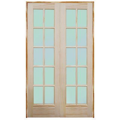 4 prehung double swing interior french door unit pinterest
