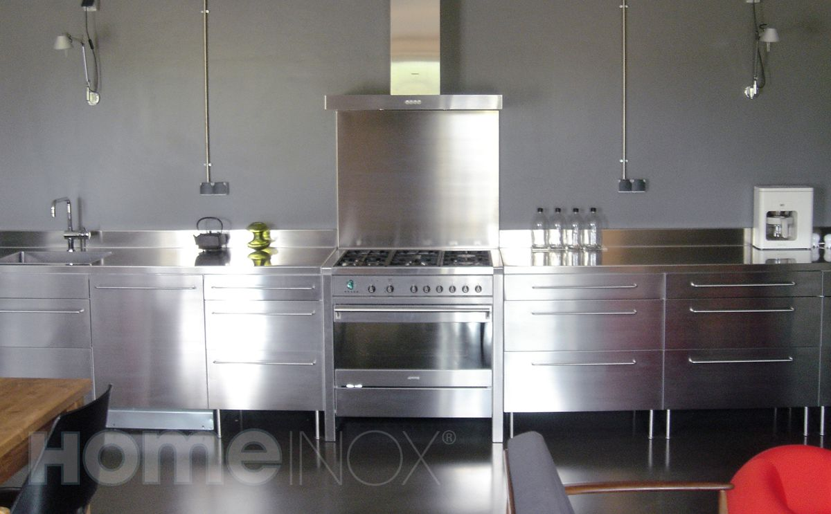 all inox kitchen cuisine pi ce de vie pinterest correspondant inox et cuisine inox. Black Bedroom Furniture Sets. Home Design Ideas