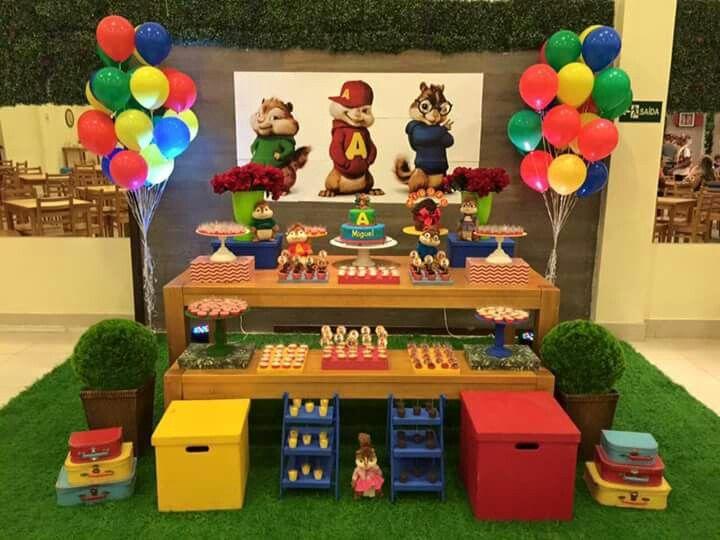 Tavolo Compleanno Uomo : Alvim e os esquilo mais idee per feste di compleanno primer