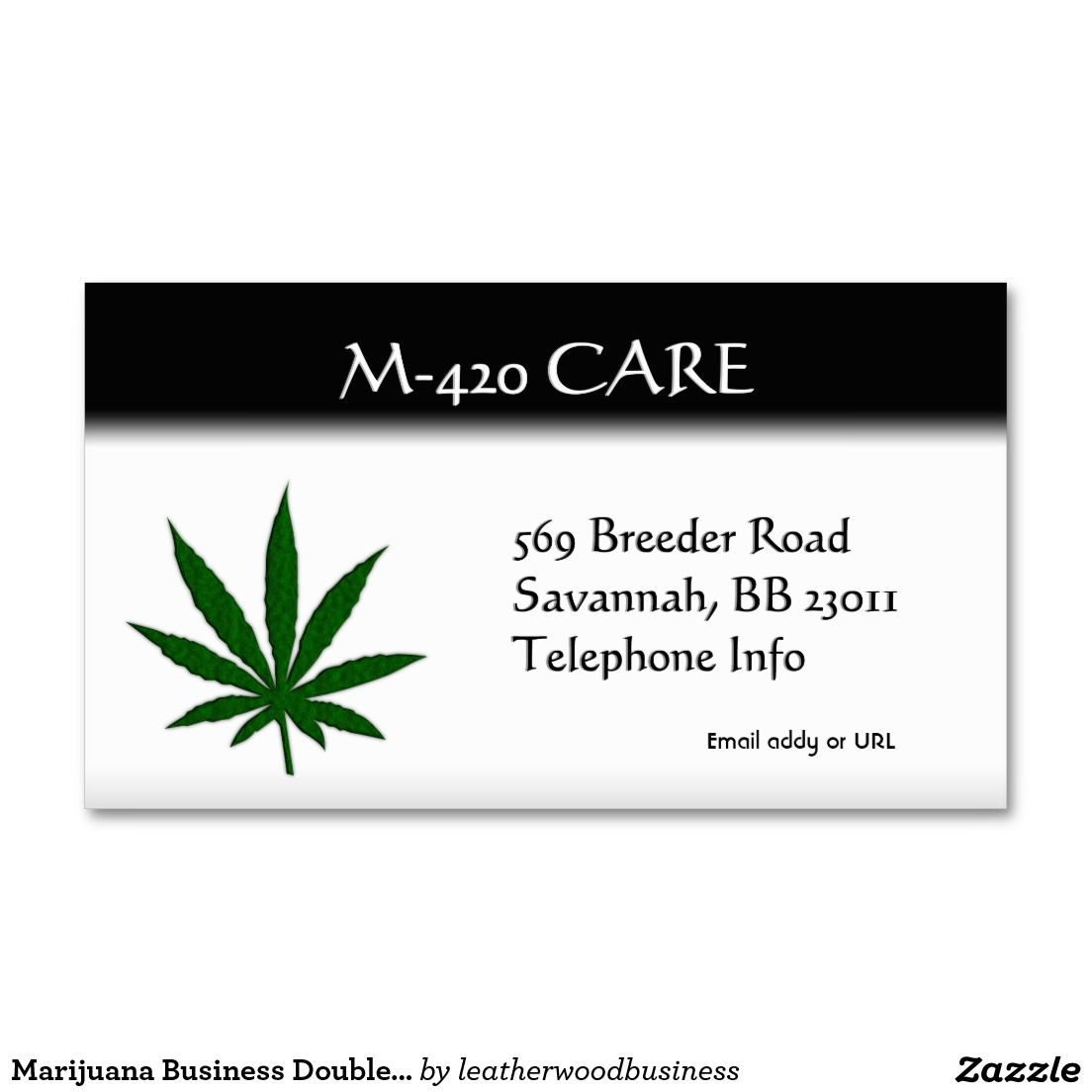 Marijuana Business Double Sided | Pinterest | Business