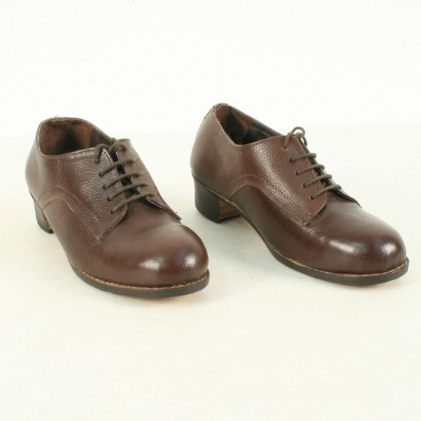 Repro Women's Leather ATS Shoes--Soldier of Fortune | WWII ...