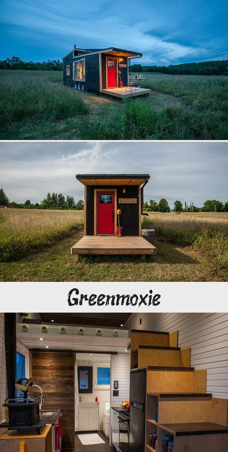An offgrid sustainablybuilt 340 square feet tiny house
