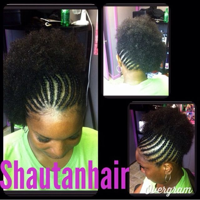 Crochet Braids Puff : Natural hair styles on Pinterest Black Women, Afro and Natural Hair