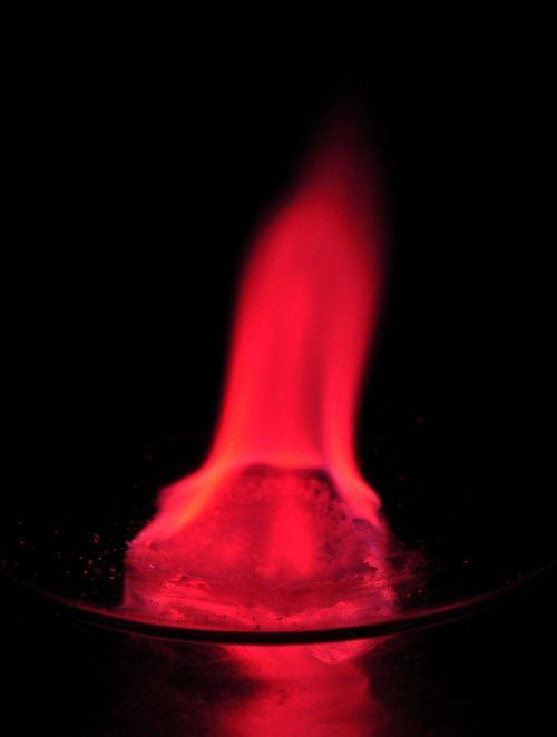strontium chloride in burning methanol holymoleculesbatman - new periodic table chloride symbol