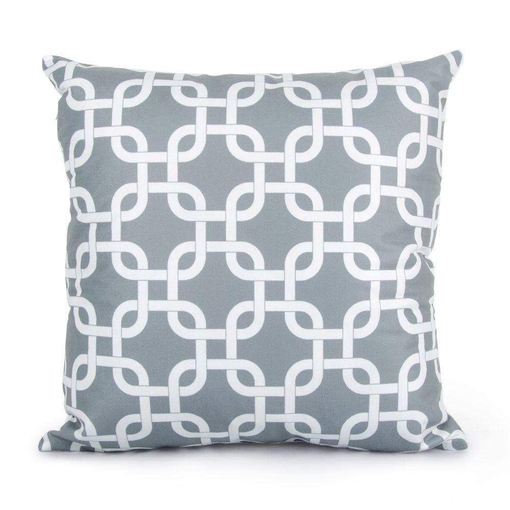 Topfinel geometric cushion cover cheap grey pillow covers for puff