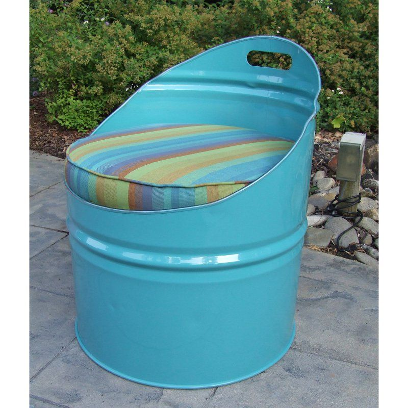 Outdoor Drum Works Furniture Laguna Club Chair - 2005