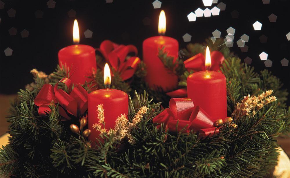 Adventskranz anzunden tradition