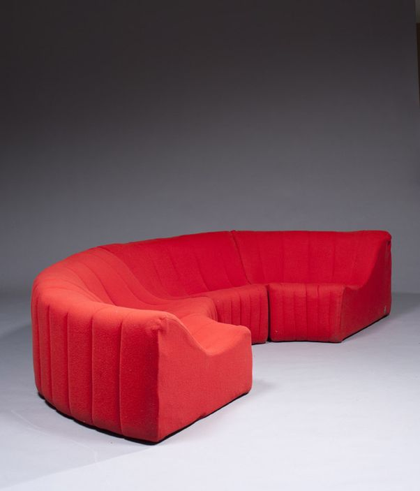Kwok Hoi Chan Sectional Sofa For Steiner 1960s